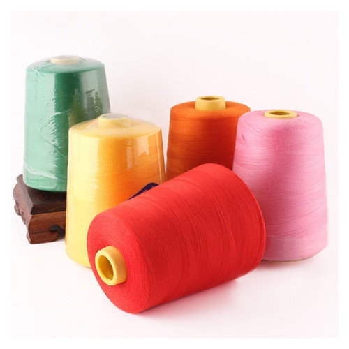 100% polyester Textured Yarn for overlocking